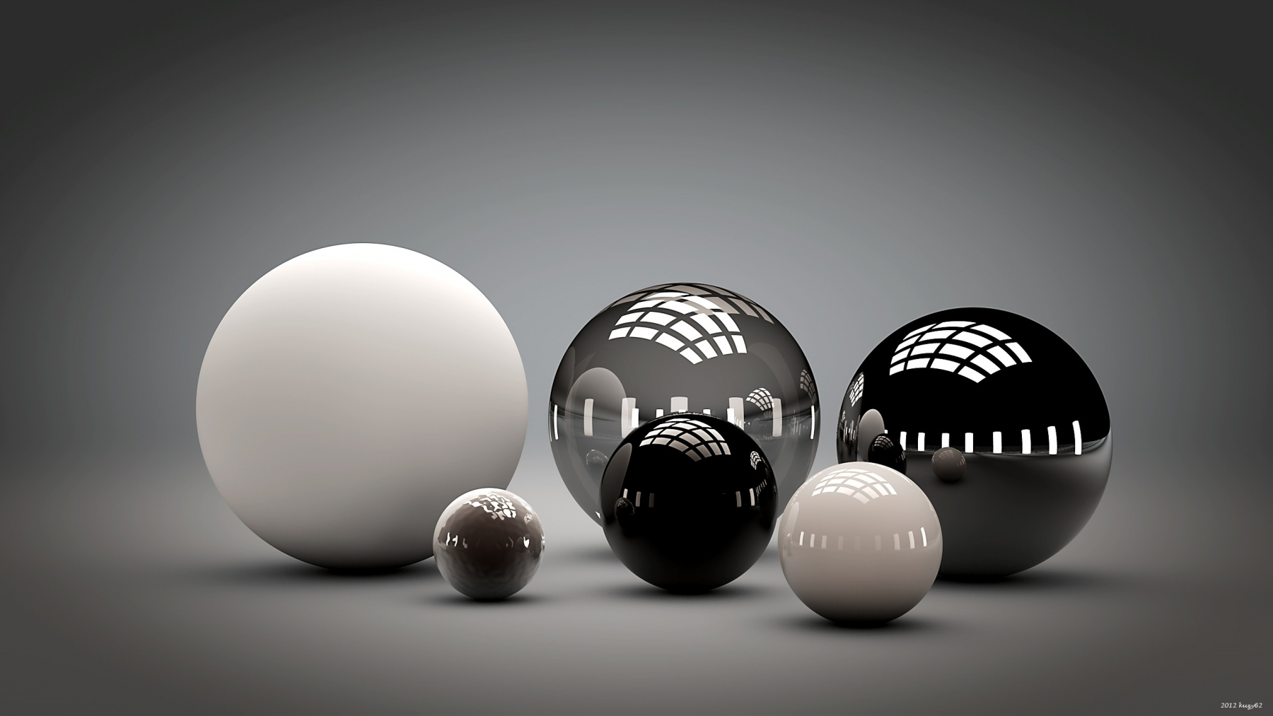 balls_shape_sleek_reflection_54783_2560x1440